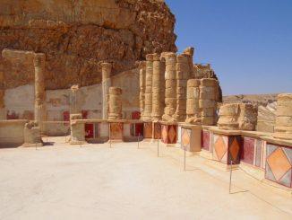 Крепость Массада и купание в  Мёртвом море.