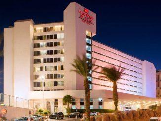Гостиница Crowne Plaza Hotel Eilat